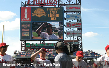 reunion night at citizens bank park